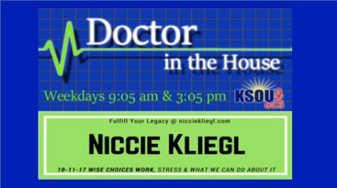 Dr In the house, Niccie Kliegl, Stress
