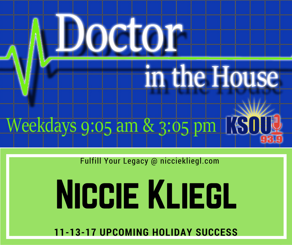 Niccie Kliegl Dr in the House Holiday Success