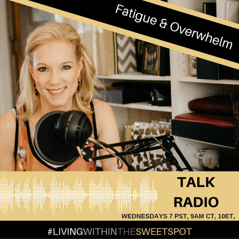 Talk show overwhelm