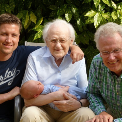 4 generations of men in one photo
